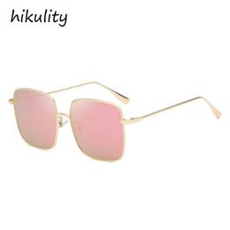58773b40d61 Rectángulo gafas de sol de la vendimia de las mujeres 2018 marca de lujo  para mujer Shades Retro Tendencia 90 s azul rosa gafas de sol hombres gafas de  sol ...
