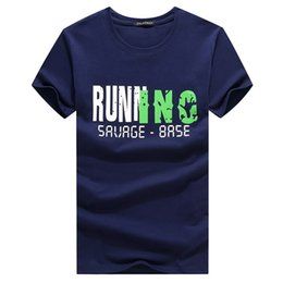 Trajes de correr online-2018 funny tee cute t shirts Camiseta del hombre lovely running summer jersey costume camiseta Tops