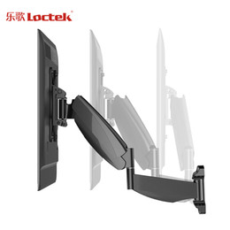 "Wholesale Full Moving - Loctek Move-S1 Gas Spring Full Motion 43""-52"" LCD LED TV Wall Mount Max. VESA 400*400mm Loading 13-21kgs"