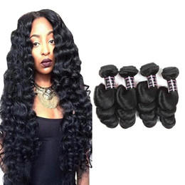 Wholesale curly machine price - Good 8A Brazilian Hair Bundles Body Wave Loose Deep Water Wave Deep Curly Human Hair Extensions Group Price Peruvian Malaysian Hair Wefts