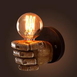 Aplique de pared de la nave online-DHL Envío Gratis Edison Wall Sconce Retro Lámpara de Pared Accesorios Personalidad Creativa Loft Industrial Vintage Lámpara de Luz de Pared