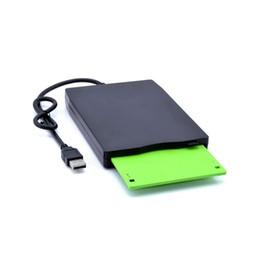 Unidade de disquete slim portátil usb externa com leitor de cartão de