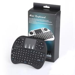 rii i8 bluetooth Rabatt Mini rii i8 drahtlose tastatur 2.4g englisch air maus tastatur fernbedienung touchpad für smart android tv box notebook tablet pc
