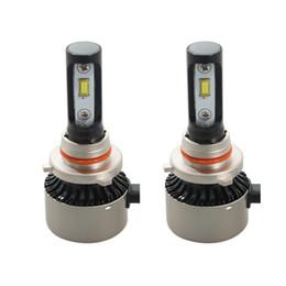 Wholesale led bulbs for car h1 - 45W car led headlight H7 H11 9005 9006 880 H1 H3 Car Headlight Bulb 6500K auto Headlamp For composite Passport Neon Ram Neon