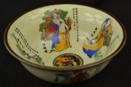 Wholesale Hand Painted Art Ceramics - Jingdezhen porcelain painting collection of hand-decorated bowl Immortals