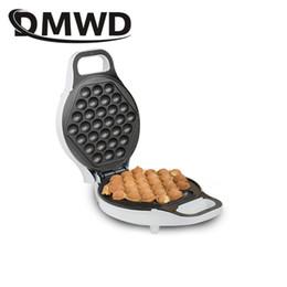 DMWD мини портативный Гонконг электрические яйца пузырь вафельница QQ яйцо Абердин омлет машина eggettes слоеного торт Пан ЕС США plug от Поставщики яйцо eggettes