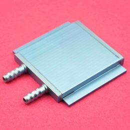 Ordinateurs gpu en Ligne-Gros-1pcs Radiateur de bloc de refroidissement par l'eau en aluminium 76X68X8mm pour ordinateur GPU CPU TEC