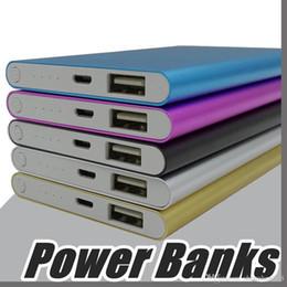 cargador portátil grande Rebajas Ultra delgado delgado powerbank 8800mAh Banco de energía ultrafino para teléfono móvil Tableta PC Batería externa F-YD