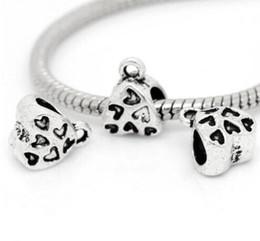 Canada 100 pcs alliage Bails spacer Perles breloques en argent Antique Pour collier de bricolage Prise de Bijoux conclusions 9x11mm Offre
