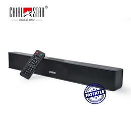 Wholesale Computer Sound Bar - Portable Sound Bar Outdoor Wireless Bluetooth Speakers USB Rechargable MP3 Player Mini Soundbar Music System