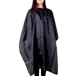 Wholesale Hairdressing Aprons Wholesale - Haircutting Gown Hairdresser Hair Cutting Barber Fashion Hair Cutting Tool Cloth Apron Shade Waterproof Salon Hairdressing Cape