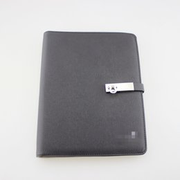 Wholesale Classic Notebook - M-Notepads Leather cover Germany brand notebook Classic logo stationery Fashion style