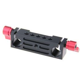 Montaje en carril de 15mm online-15mm Railblock Rod Clamp Mount Hloder fr DSLR 15mm Rail Rig Cage Base Plate