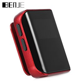 Wholesale oled player - BENJIE K10 8GB 0.96 Inch OLED Screen Digital MP3 Music Player With FM Radio   E-Book   Recording