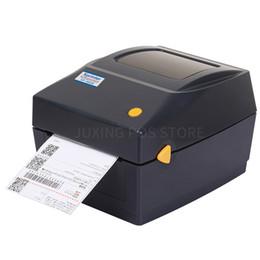 cartes glissières Promotion Xprinter XP-460B Imprimante de code à barres thermique thermique directe USB de 20mm ~ 103mm
