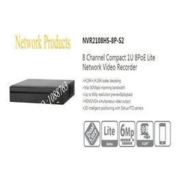 Wholesale Dahua Network Video Recorder - DAHUA 8 Channel Compact 1U 8PoE Lite Network Video Recorder without Logo NVR2108HS-8P-S2