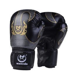 2019 luvas de luvas de soco Completa Luvas Dedos Mulheres Homens boxe saco de pancada Treinamento Muay Thai Karate MMA Sanda Luta Boxe De Luvas Mitts DPBO aptidão luvas de luvas de soco barato