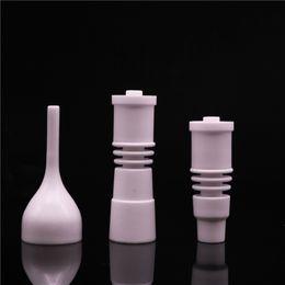 Céramique de titane en Ligne-Clou en céramique sans dôme en céramique avec capuchon en carbure de carbure pour modèle 16 ou 20 bobines Enail bobine VS clou titane