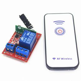 433 МГц 5 В DC 10A 1CH пульт дистанционного управления приемник беспроводной Remoto переключатель Self - Lock переключатель релейный модуль для света двери гаража мотор от