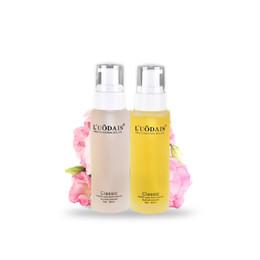2019 productos para el cuidado del cabello al por mayor LUODAIS Perfume Nutriente Cuidado del cabello Aceite esencial Venta al por mayor Profesional Salón Productos para el cabello Cuidado del cabello sin enjuague Suero 80ML productos para el cuidado del cabello al por mayor baratos