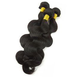 2019 ткачество для африканских волос 8А класс бразильский объемная волна человеческих волос пучки переплетения человеческих пучки бразильский девственные волосы для афро-американцев женщин 3 шт. дешево ткачество для африканских волос