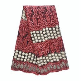 Hochzeit Neueste Afrikanische Schnürsenkel 2018 Kleid Material Rot Gold Rosa Spitze Stoff Lila Farbe Tüll Französisch Schnürsenkel Stoff Hohe Qualität von Fabrikanten
