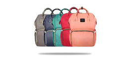 Wholesale Diaper Bag For Fashion Mummy - New Fashion Diaper Bag Mummy Backpack For Modern Parents Large Capacity Multi-function Storage Baby Bag Waterproof Fabric For Baby Care