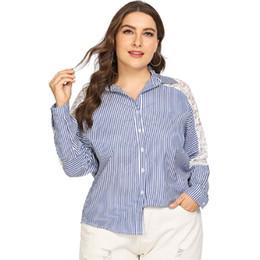 0eb59b0ac87 long shirt fat woman Promo Codes - Fat mm new autumn long sleeve women Shirt  plus