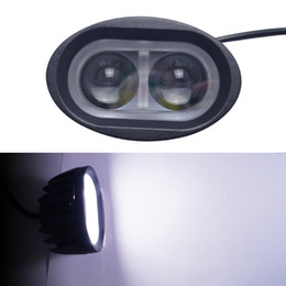 2019 fahrzeug arbeitsscheinwerfer 12v 20W Fahrzeug-SUV-Auto-LED Arbeits-Licht-nicht für den Straßenverkehr Lichter-Punkt-Strahl führte Chips Floodspot, das Lampe Sportlight DC 12V-24V # 1070 fährt günstig fahrzeug arbeitsscheinwerfer 12v