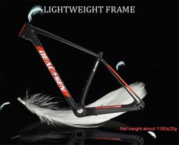 "Wholesale mountain building - Mountain Bike Frame for sale Deacasen 29er carbon fiber bicycle building supplies 15 17 19"" full carbon frame MTB"