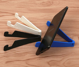 Wholesale wholesale oppo mobile - 2018 Mobile Phone Stand Foldable Holder Small Support for Apple Iphone 5 6 7 8 Xiaomi Huawei OPPO Letv Electronic Commerce Gift