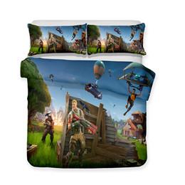 Conjunto edredón adulto online-Juegos de cama impresos en 3D Juegos de cama / Funda nórdica