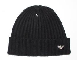 Классический бренд шляпа мужчины шапочки зимние шапки для женщин вязание шерсть Skullies хип-хоп Cap Gorros мужская casquette капот шапки от