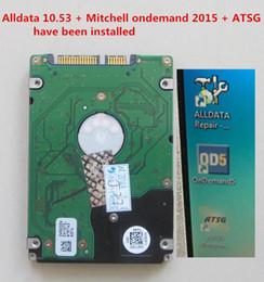 Wholesale auto repair data - 2018 New Alldata And Mitchell OnDemand Auto Repair all data 10.53 In 1TB New Hard Disk Alldata Mitchell ATSG installed FreeShipping