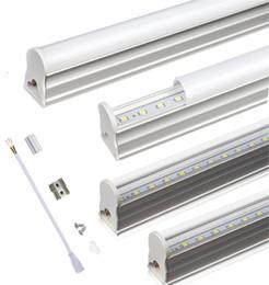 T5 intégré LED Tube 2ft 3ft 10W 14W led lumières AC85-265V SMD 2835 LED Tubes de lumière fluorescente Couverture transparente couverture laiteuse ? partir de fabricateur