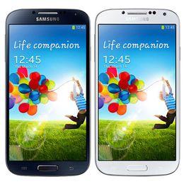 S4 renoviert online-Überholter ursprünglicher Samsung-Galaxie S4 i9500 i9505 5,0 Zoll Viererkabel-Kern 2GB RAM 16GB ROM 13MP 3G 4G LTE entriegelt androides Smart Phone DHL 10pcs