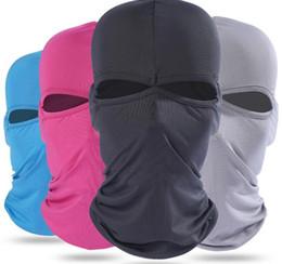 Motosiklet Düz Renk Yüz Windproof Maske Açık Spor Sıcak Kayak Caps Bisiklet Bisiklet Balaclavas Eşarp Doğum Günü Hediyesi Paten G nereden bisiklet tedarikçiler