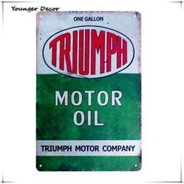 Wholesale Vintage Motorcycle Tin Signs Suppliers | Best