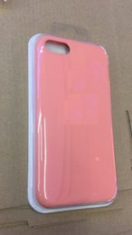 Wholesale Apple Board - Original silicone shell full board for Iphone 6 7 8PLUS X soft touch feel case for iphone