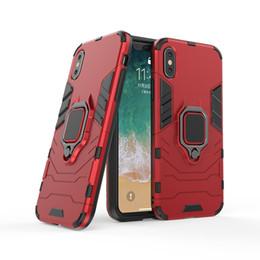 Manzana pantera online-2018 Lo último Para iPhone case iPhone case PC + TPU Black Panther Anti Shock funda para teléfono móvil para Samsung S9