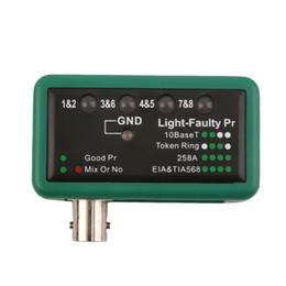 2019 bodensuche metalldetektor Großhandels-NFCC heißes Koaxialkabel BNC-Netz-Draht-Linie Prüfvorrichtung-Detektor-Verfolger MASTECH MS6810 populär