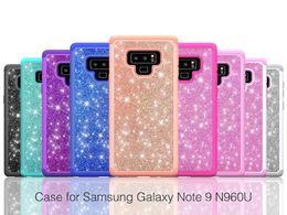 Canada Pour Samsung S9 Couverture Case De Luxe étincelante de couverture de téléphone portable cas étui de Téléphone étincelant pour iphone X 8 8 Plus Offre