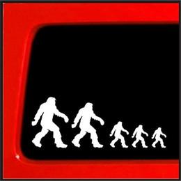 decalques da família para carros Desconto Estilo do carro Sasquatch Vara Figura Família Bigfoot Vinyl Decal Adesivo Engraçado Ninguém Carro Novo