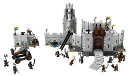 Wholesale Toy Lord Rings - wholesale  16013 1368pcs Movie Series Lord of the Rings Battle Of Helm' Deep Model Building Blocks Bricks for Children Toys