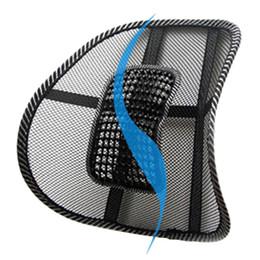 2019 gestrickte autositzbezüge Stuhl Rückenstütze Massagekissen Mesh Relief Lordosenstütze Auto Lkw Büro Home Kissen Sitz Stuhl Lendenstütze Stuhl