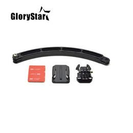 Go pro Accessoires Boucle à largage rapide de surface Kits de casques de bras de rallonge à monture adhésive incurvée pour Gopro Hero5 6 3 3+ 4 SJ40 ? partir de fabricateur