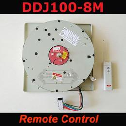 Система кабелей онлайн-Авто дистанционно управляемой лебедкой хрустальная люстра лебедка Lighting lifter электрические лебедки, подъемные света лампа системы двигателя DDJ100 8м кабеля