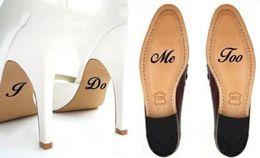 2019 zapatos de boda personalizados 2pcs / set