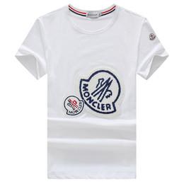 Canada T-shirt à manches courtes en coton mercerisé pour l'été avec col rond et T-shirt à manches courtes en coton de soie tendance pour hommes Offre