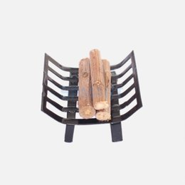 Wholesale Metal Dollhouses - 1 12 Dollhouse Furniture Metal Rack with Firewood for Living Room Fireplace Model